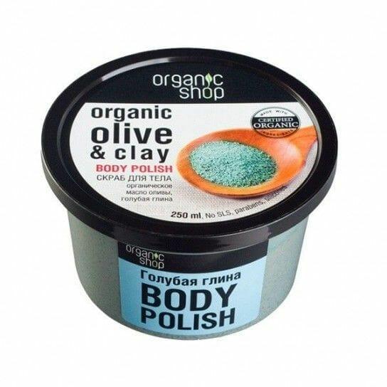 Exfoliante Corporal Suave Olive Clay