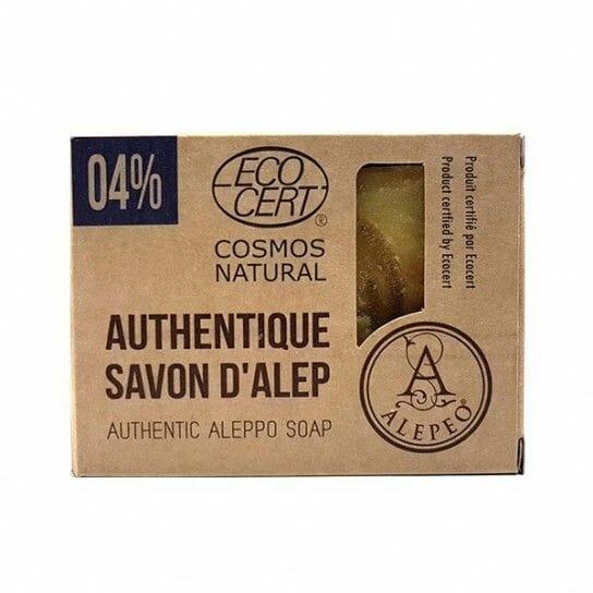 Pastilla de Jabón de Alepo al 4% ECOCERT