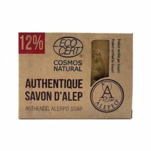 Pastilla Jabón de Alepo del 12% ECOCERT