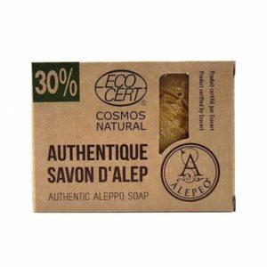Pastilla de Jabon de Alepo al 30% ECOCERT