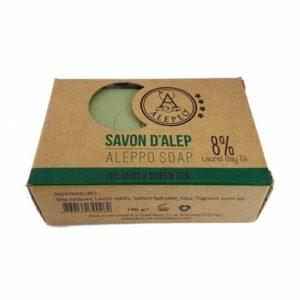 Pastilla de Jabón de Alepo Green Tea