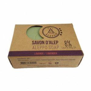 Pastilla de Jabón de Alepo Lavender