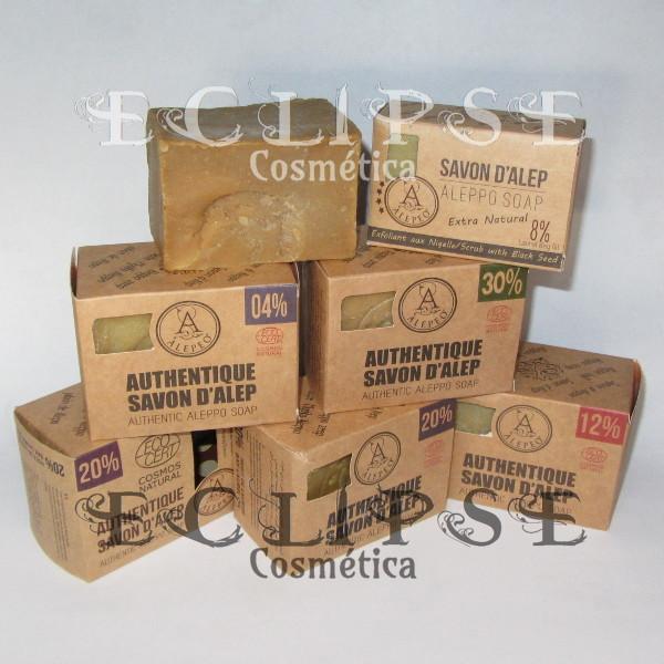Pastillas de Jabón de Alepo con Certificado EcoCert