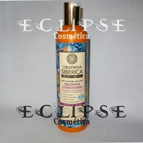 Acondicionador Oblepikha para Cabello Normal y Cabello Graso Eclipse Cosmética