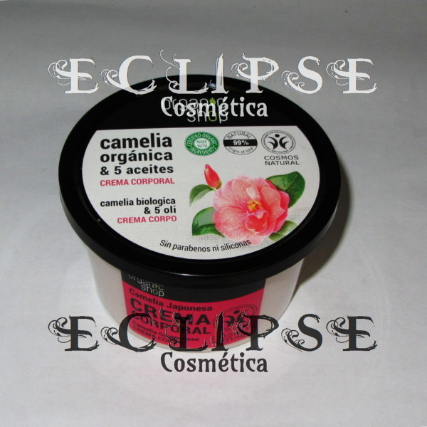 Body Cream Japanese Camellia Eclipse Cosmética