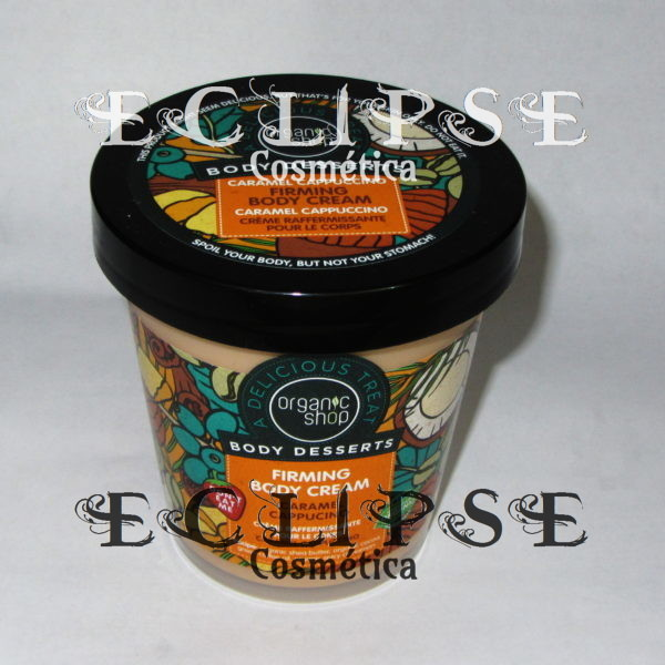 Body Cream Reafirmante Capuchino y Caramelo Eclipse Cosmética