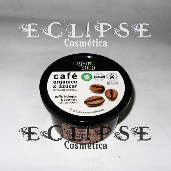 Exfoliante Corporal Brazilian Coffee Eclipse Cosmética