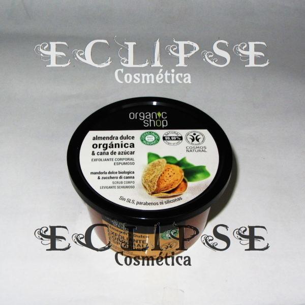 Exfoliante Corporal Espumoso Sweet Almond Eclipse Cosmética