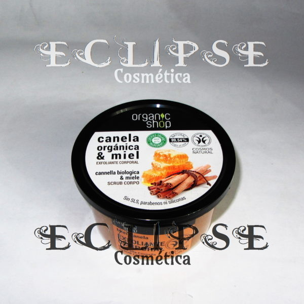 Exfoliante Corporal Honey Cinnamon Eclipse Cosmética