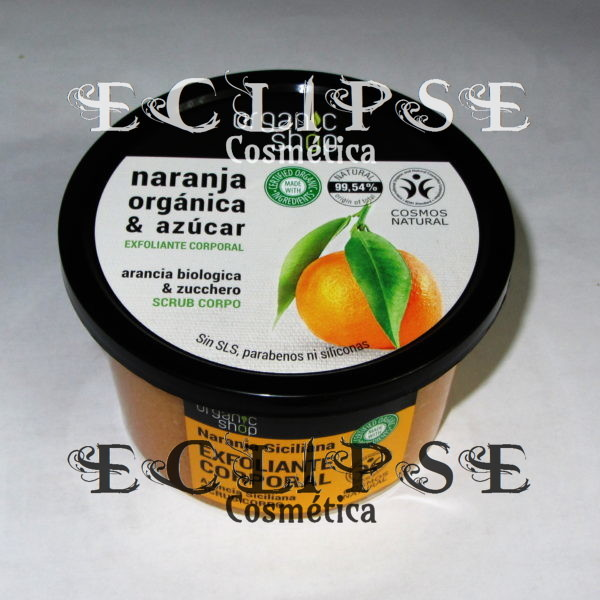 Exfoliante Corporal Sicilian Orange Eclipse Cosmética