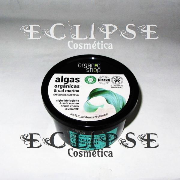 Exfoliante Corporal Suave Atlantic Algae Eclipse Cosmética