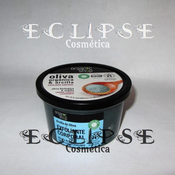 Exfoliante Corporal Suave Olive Clay Eclipse Cosmética