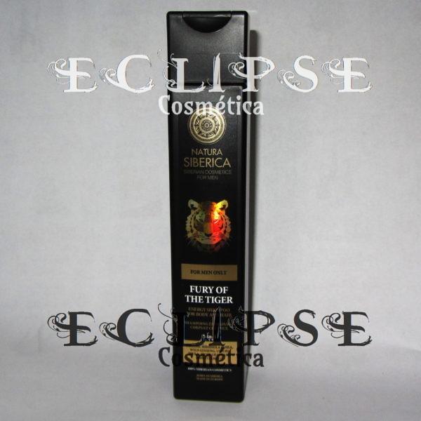 La Furia del Tigre - Champú Energizante para Cuerpo y Cabello 2 en 1 Eclipse Cosmética
