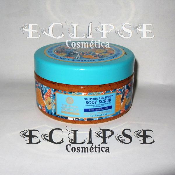 Peeling Corporal Exfoliante de Oblepikha y Miel Eclipse Cosmética