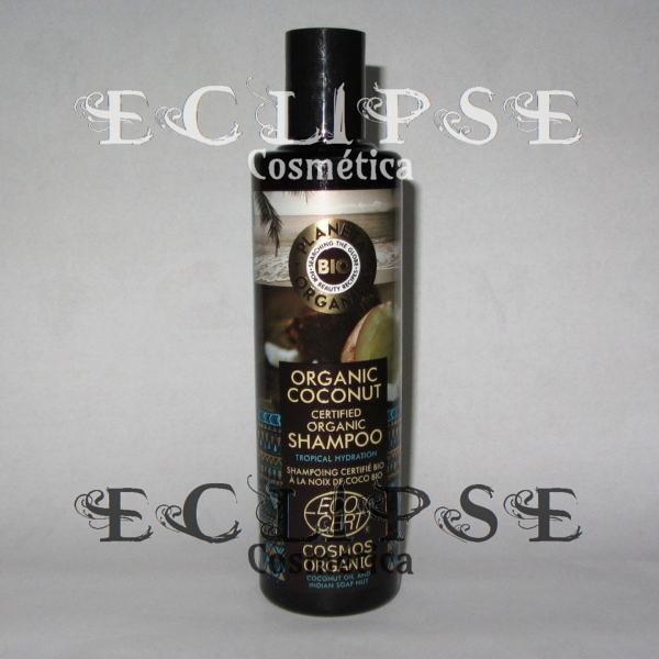 Champú Natural Coco Planeta Orgánica Eclipse Cosmética