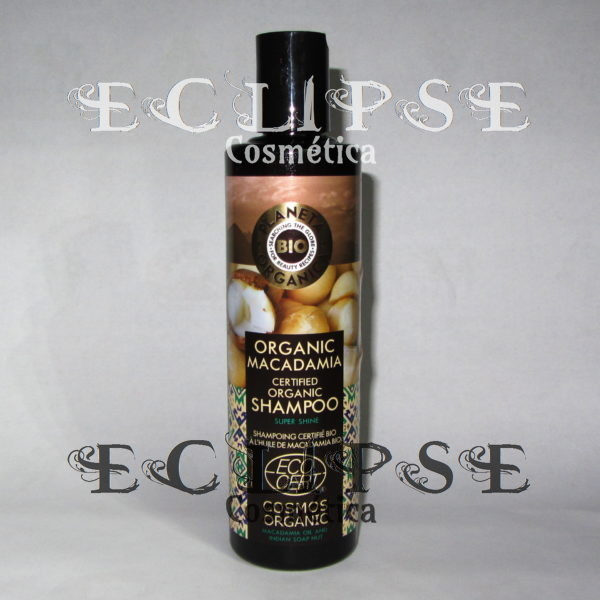 Champú Natural Macadamia Planeta Orgánica Eclipse Cosmética