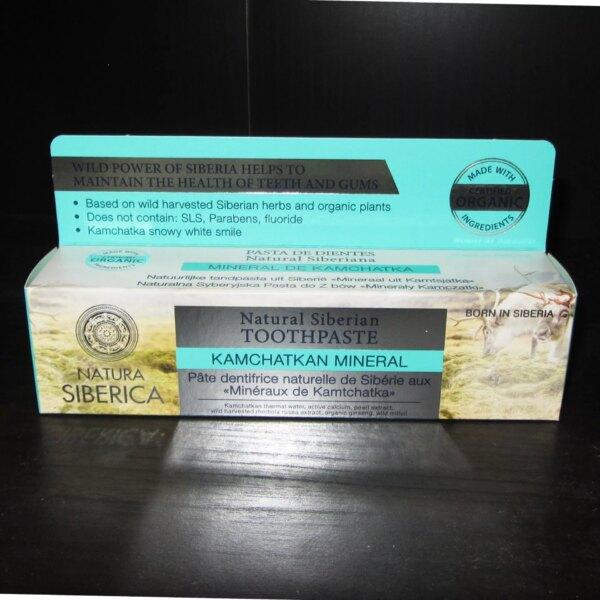 Pasta de Dientes Siberiana Kamchatkan Eclipse Cosmética