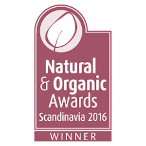 Natural & Organic Awards Scandinavia 2016 Winner