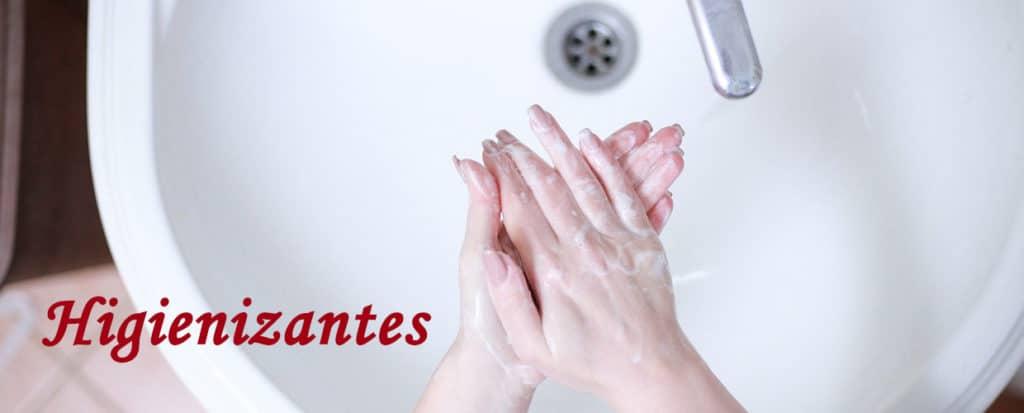 Higienizantes de manos y cuerpo