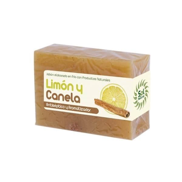 Jabón Natural Elaborado en Frio de Limón y Canela