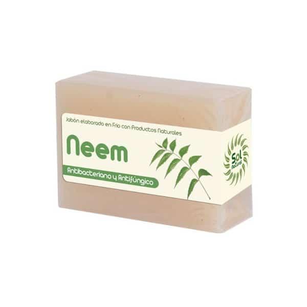Jabón Natural Elaborado en Frio de Neem