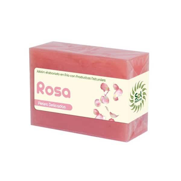 Jabón Natural Elaborado en Frio de Rosa Petalos