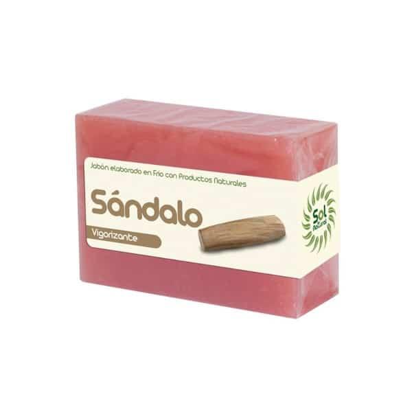 Jabón Natural Elaborado en Frio de Sándalo