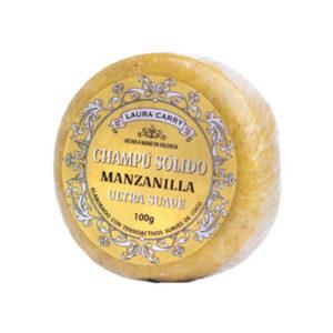 Champú Sólido de Manzanilla