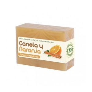 Jabon Natural Elaborado en Frio de Canela y naranja