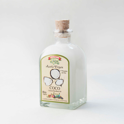 Aceite Natural de coco Bio en botella